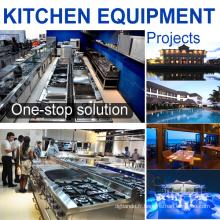 Solution complète 5 étoiles hôtel acier inoxydable cuisine équipement commercial