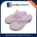 Оптовая полые дышащий фиолетовый Последние леди Сандал