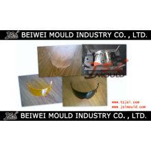 Good Quality Plastic Injection Helmet Visor Mould