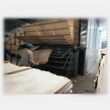 Hot air wood drying oven machine for veneer production line