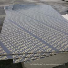 Poplar Core 15mm Film Faced Construção Contraplacado à prova d'água
