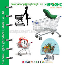 125L Shopping Trolley for supermarket