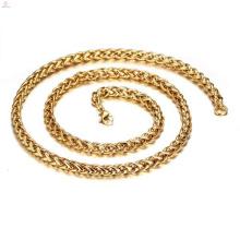 Wholesale 18k cadeia de colar de ouro cheio