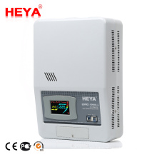 Home Use Wall Mounted Single Phase 220V Servo Type 10kva Regulated Power Supply Voltage Stabilizer