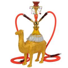 China factory wholesale top quality animal shaped hookah resin hookah narguile shisha camel hookah