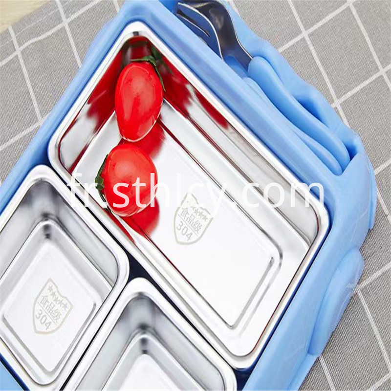 Stainless steel children's car tableware