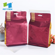Customized Square Ziplock Reusable Pouch Bags For Spice Powder
