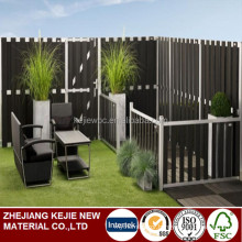 High Quality Fence Anti UV Home Private Decorative Waterproof Garden WPC Fencing
