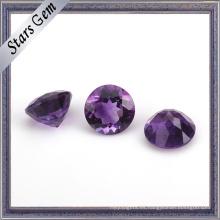 10mm de gran tamaño natural amatista sin tratar preciosa piedras preciosas