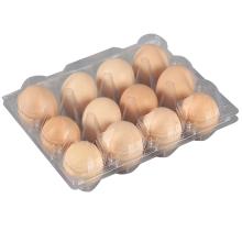 12 Löcher Clear Egg Box Kunststoff Eierablage