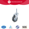 Threaded Stem Swivel TPE Institucional Caster