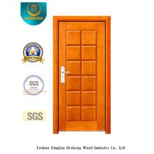 Porte en acier de sécurité de style moderne pour l'intérieur ou l'extérieur (B-3010)