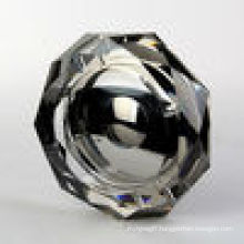 Crystal Black Silver Ashtray for Office Home Decoration China Supplier (JD-CA-510)