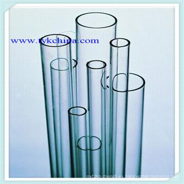 Tubo de vidrio de borosilicato para artesanía de vidrio y cristalería de laboratorio