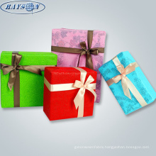 nonwoven gift box packaging paper christmas gift wrapping paper free sample