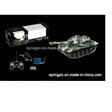 Battle Tank RC (piles rechargeables incluses) Jouet militaire