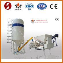Mobile concrete mixing plant,20m3/h mobile concrete mxing machine,portable concrete batch plant