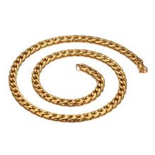 Homens Colares de Ouro de Aço Inoxidável Cadeia De Espessura, Diferentes Tipos de Colar de Corrente De Ouro Designs de Jóias