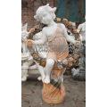 Pedra mármore escultura estátua escultura de jardim esculpido para decoração (SY-X1200)