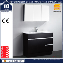 New Design Floor Standing Bathroom Cabinet with Optional Mirror Cabinet