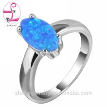 Moda 18 K puro banhado a ouro anel de rubi gemstone design anel de latão jóias