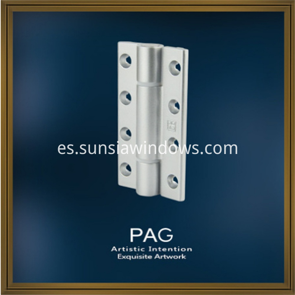 Excellent Quality Painted Silver Zinc Bifold Door Hinge