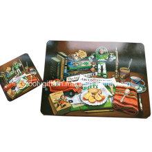 Conjunto promocional de copa de corcho y juego de copas