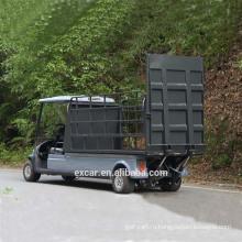 EXCAR 2 местный транспорт электрической тележки гольфа для сбывания электрические багги