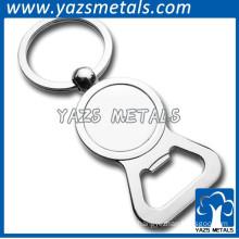 metal keychain stainless steel bottle opener