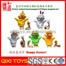 Made in China Poupées marionnettes à la main en peluche pour animaux et marionnettes à doigt