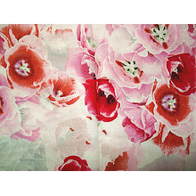 Printing Silk Linen Brocade Satin Fabric