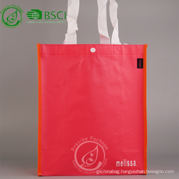 Recyclable custom PP non woven advertising bag