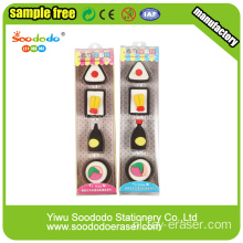Rubber Eraser Stationery sets