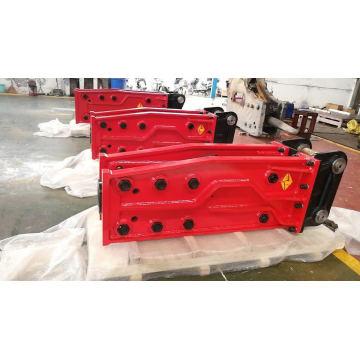 Box zum Schweigen gebracht hydraulischer Hammerbrecher