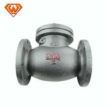 Válvula de retención oscilante de acero ANSI B16.5Carbon