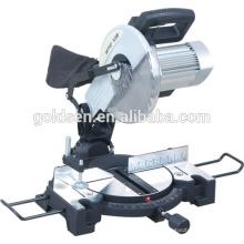"""Baja de ruido 255 mm 10 """"de energía eléctrica de madera de corte de corte de herramientas de corte de motor de inducción Compuesto Mitre Saw"""