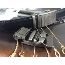 Cintos de couro preto para homens (RF-160505)