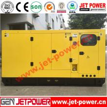 Тихий трехфазный дизельный генератор мощностью 160 кВА с P086ti-I