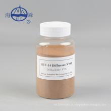 Condensação de formaldeído sulfonato de naftaleno