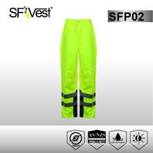 high visibility clothing waterproof workwear raincoat