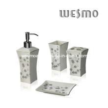 Ensemble de bain en porcelaine de qualité supérieure (WBC0471A)