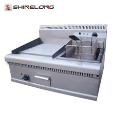 High-efficient electric cast iron griddle power saving electric griddle for restaurant