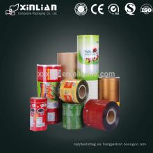 Materiales de embalaje compuestos impresos laminados personalizados