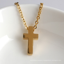 Delicate Gold Little dainty Cross Charm Necklace for Gift