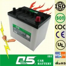 Bateria de carro carregada a seco 12V60ah (55D23R)