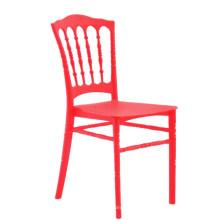 en gros pas cher napoléon empilable en plastique en plein air mariage salle à manger chaise de banquet