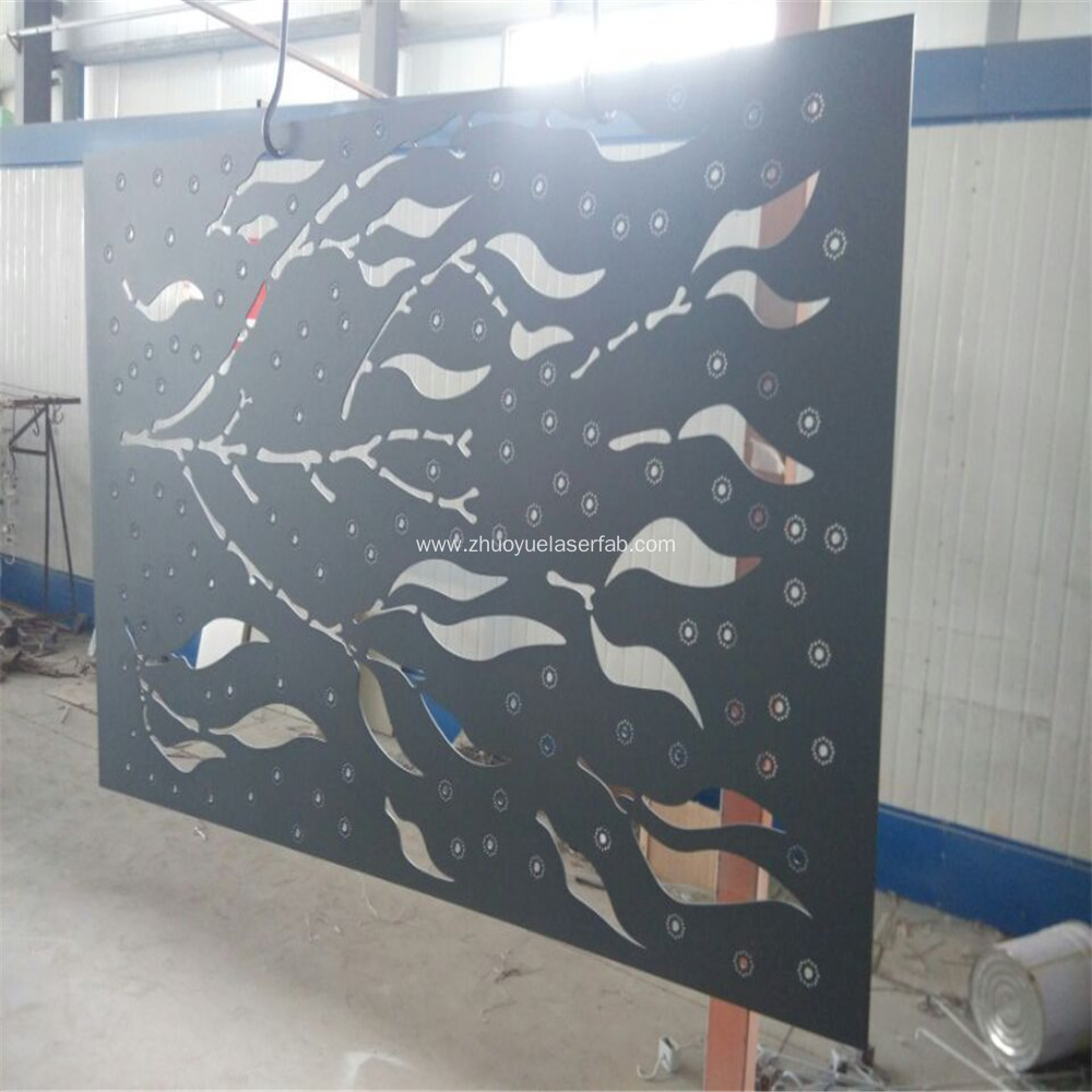 Custom Laser Cut Metal Screens Outdoor