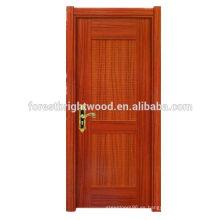 Puerta de madera moderna de la melamina del oscilación del nuevo estilo