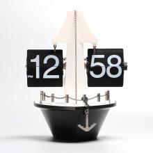 Attractive gift item retro Ship flip clock