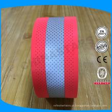 China 5 * 2cm ou oem tamanhos perfurados 100% aramid fr fita reflexiva